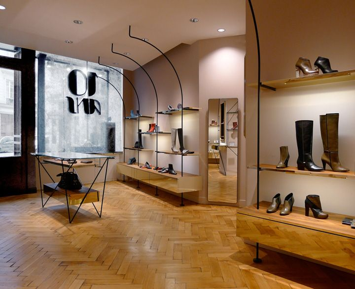 In Spring The Shoe Designer Karine Arabian Reopened Her Signature Boutique  At Rue Papillon In The Arrondissement Of Paris, Unveiling A Newly