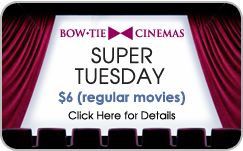 The Criterion Movie Theater downtown offers Super Tuesday deals for $6 movies when you join their free criterion club! Plus, pay only $8 Mon-Thurs for movies with student ID.