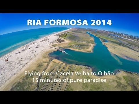 Ria Formosa 2014 - Video via Maximilian Xavier 06.10.2014 | Flying from Cacela Velha to Olhão over Ria Formosa. 15 minutes of pure paradise. Algarve, Portugal