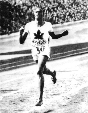 Phil Edwards was a Canadian track and field champion. Born in British Guiana, he won bronze medals for Canada in the 1928, 1932, and 1936 Olympics, then graduated from McGill University Medical School. He served as a captain in the Canadian Army during the Second World War, and, as a Montreal doctor, became an expert in tropical diseases.