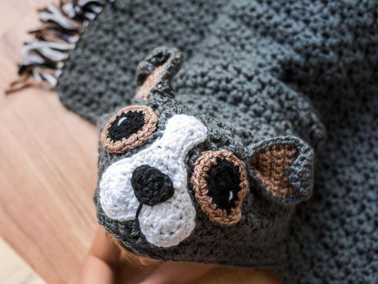 Quick and Bulky Dog Blanket Crochet Kit