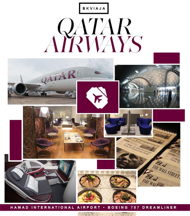 Hi, Buddies, Todo mundo sabe que a Qatar Airways é uma parceira forte do BK! Nossa história tem praticamente a mesma idade do blog, por isso, tenho tanto carinho pela