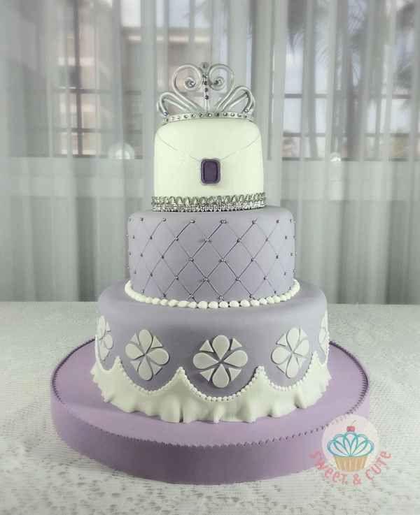 tortas para 15 años de princesa (1)