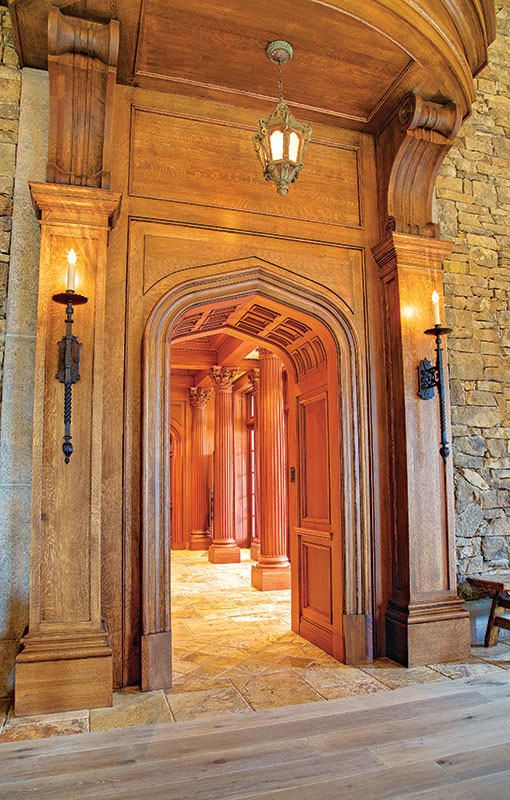 The Many Styles of Decorative Wood Mouldings | Traditional