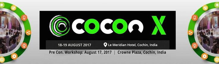 A Cyber #security and #Hacking #workshop and Conference like no other at Crown Plaza  and Le Meridian #Kochi. Register now!