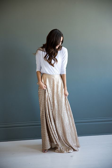 6887310bba Full Maxi Skirt in 2019 | DeSiGn | Maxi skirt outfits, Skirt outfits ...