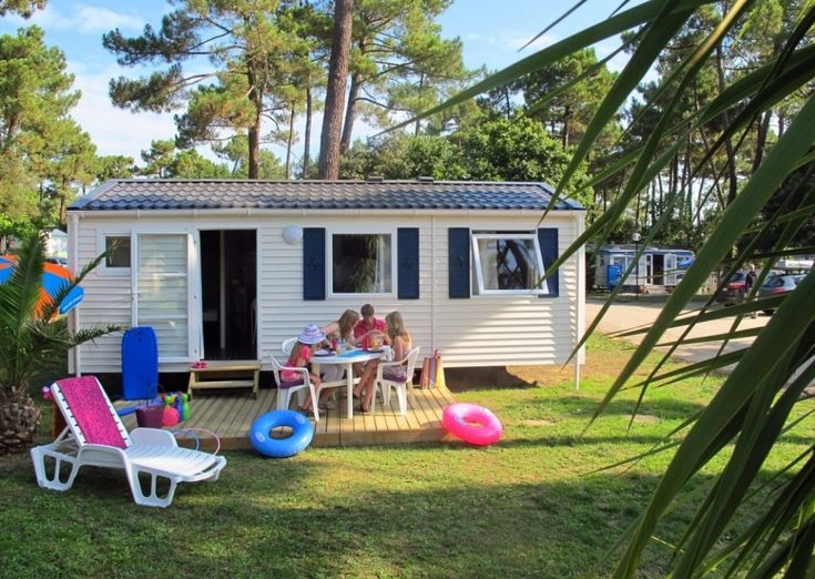 Mobil-Home FAMILY - 4/6 personnes - Camping Palmyre Loisirs