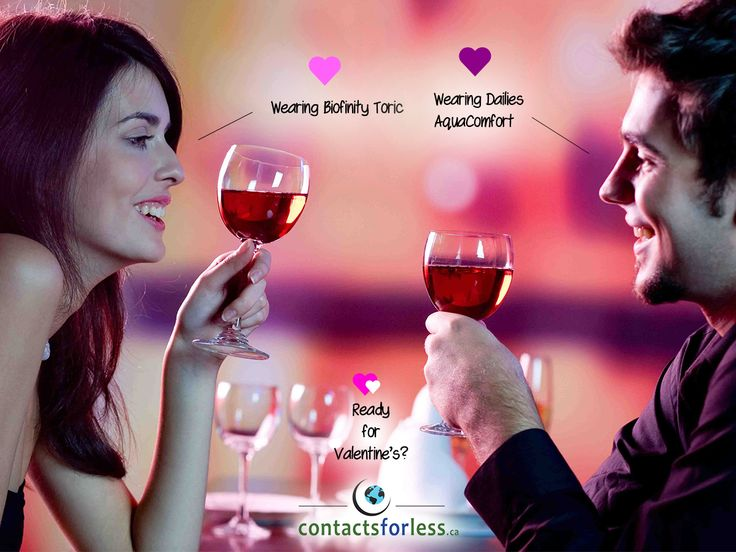 💖 Valentine's Day is coming up fast!    Don't forget to get contacts for that special night out. 💕  www.ContactsForLess.ca  #ValentinesDay #Valentine #Love