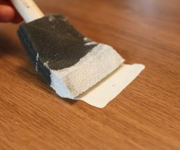 How to Paint Fake Laminate Wood | eHow                                                                                                                                                      More