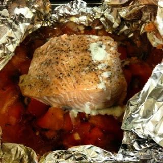 Sooo Paleo: Italian Salmon Pockets #21DSD