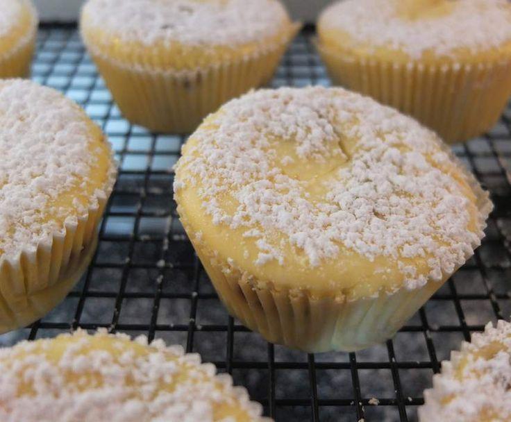 Rezept Schnelle Käsekuchen-Muffins - für Käsekuchenliebhaber von Schirmle - Rezept der Kategorie Backen süß