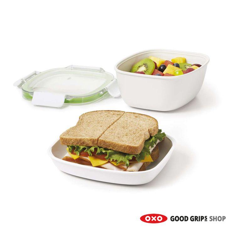 Nieuwe baan? Dit is de allerfijnste #Lunchbox #lunch #brood #brooddoos #oxo