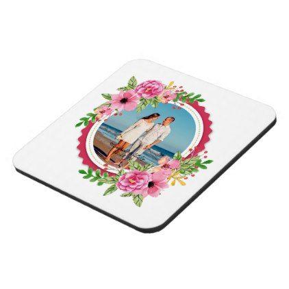 Elegant Add Your Own Photo Wedding | Coaster - anniversary cyo diy gift idea presents party celebration