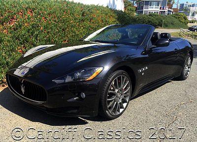 2012 Maserati Gran Turismo GRAN TURISMO SPORT CONV 12 GRAN TURISMO SPORT-CONVERTIBLE-$ 154,630 MSRP* 13K MILES!-  OWNER CALIFORNIA*