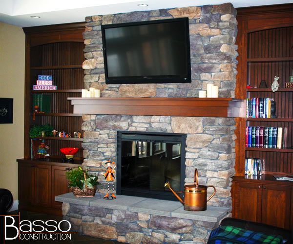 Images Of Fireplaces With Tv Above - Google Search