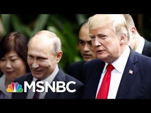 President Donald Trump Silent After Vladimir Putin's Nuclear 'Threat' | The Last Word | MSNBC - YouTube