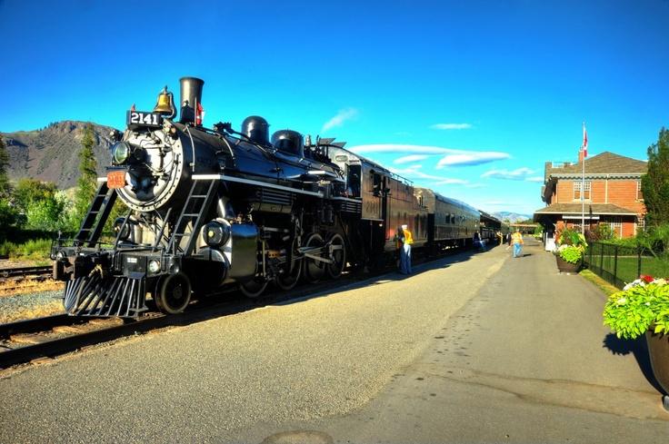 Kamloops Heritage Railroad, Kamloops BC, Canada