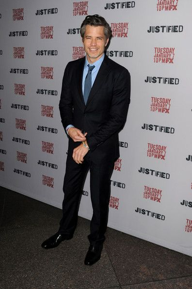 Timothy Olyphant, looking SO good!