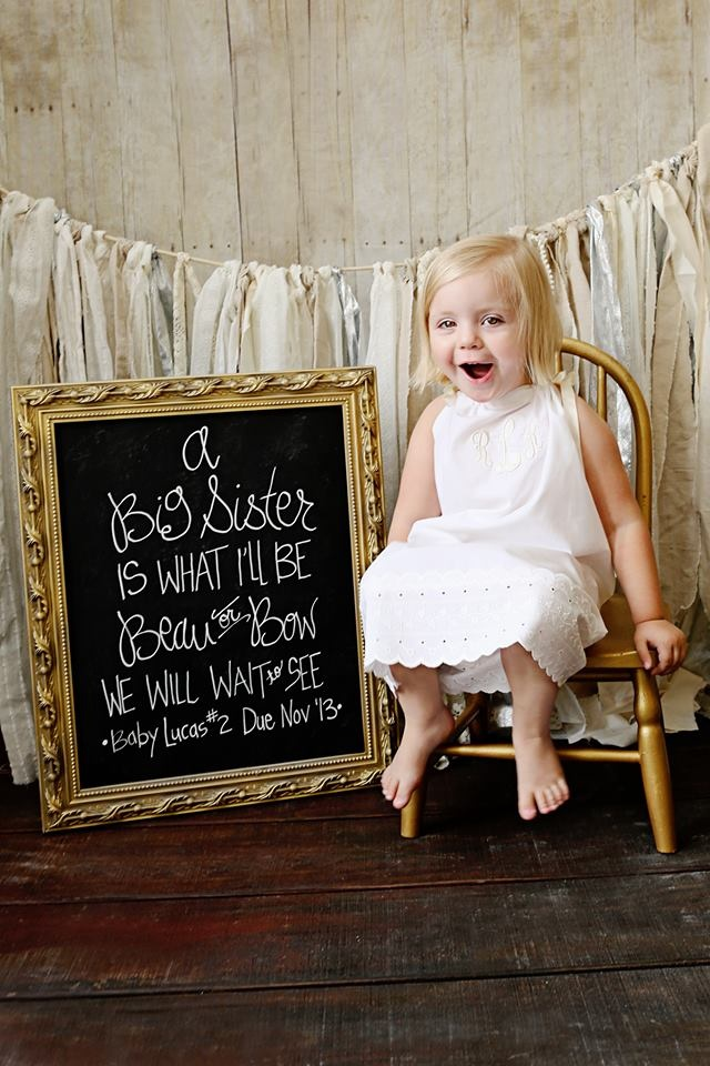 Pinterest Big Sister Announcement 1000 – Big Sister Birth Announcement