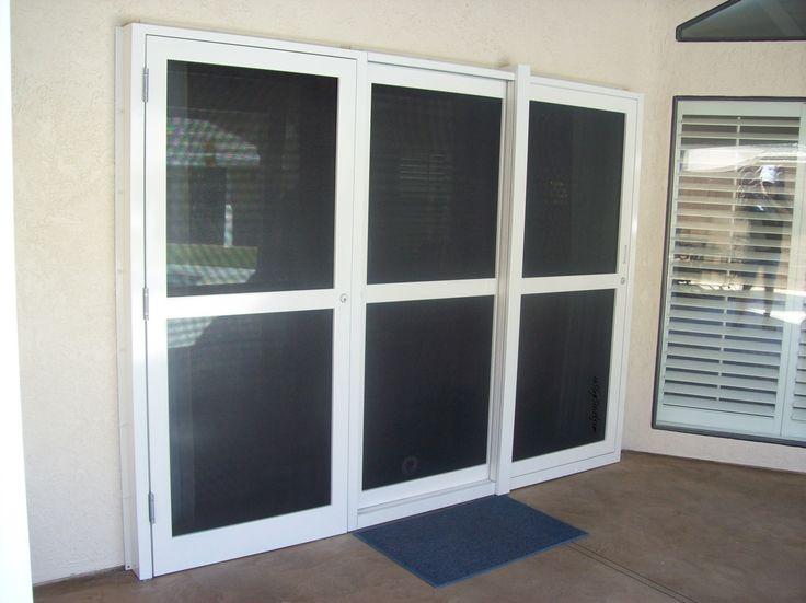 security sliding patio screen doors