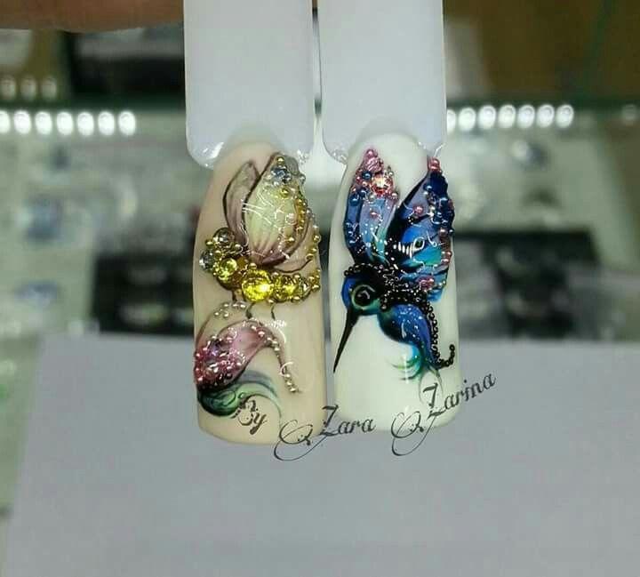 Pieces of art #nailart #nails