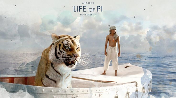Life of Pi (2012) In Canada, a writer visits the Indian storyteller Pi Patel and asks him to tell his life story. Pi tells the story of his childhood in Pondicherry, India, and the origin of his nickname. One day, his father, a zoo owner, explains that the municipality is no longer supporting the zoo and he has hence decided to move to Canada, where the animals the family owns would also be sold. They board on a Japanese cargo ship with the animals and out of the blue, there is a storm…