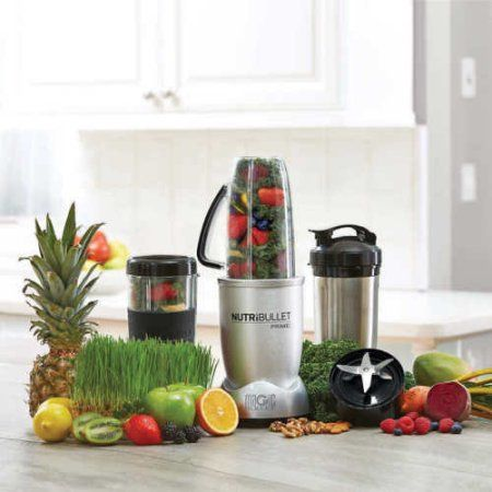 Free Shipping. Buy NutriBullet Prime 12 Pieces Set Speed Blender/Mixer System 1000 Watts at Walmart.com