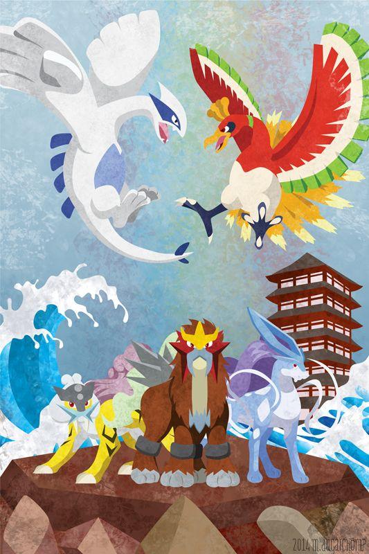 Johto Legends by m-dugarchomp.deviantart.com on @deviantART