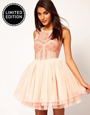 ASOS Prom Dress with Embellished Bodice