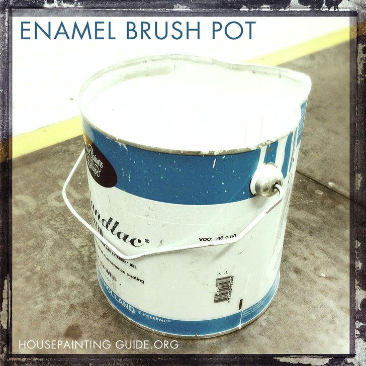 enamel brush pot made from hollandlac best high gloss paint made to manhouse painters website sourcecoirinne paints and palettes pinterest high - Best High Gloss Paint