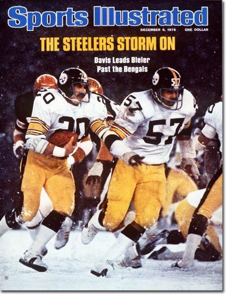 Rocky Bleier, Football, Pittsburgh Steelers