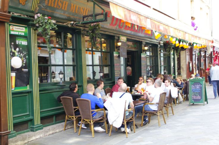 Getting thirsty? Stop by for traditional tap Guinness or crunchy chicken in Irish Pub #Bratislava