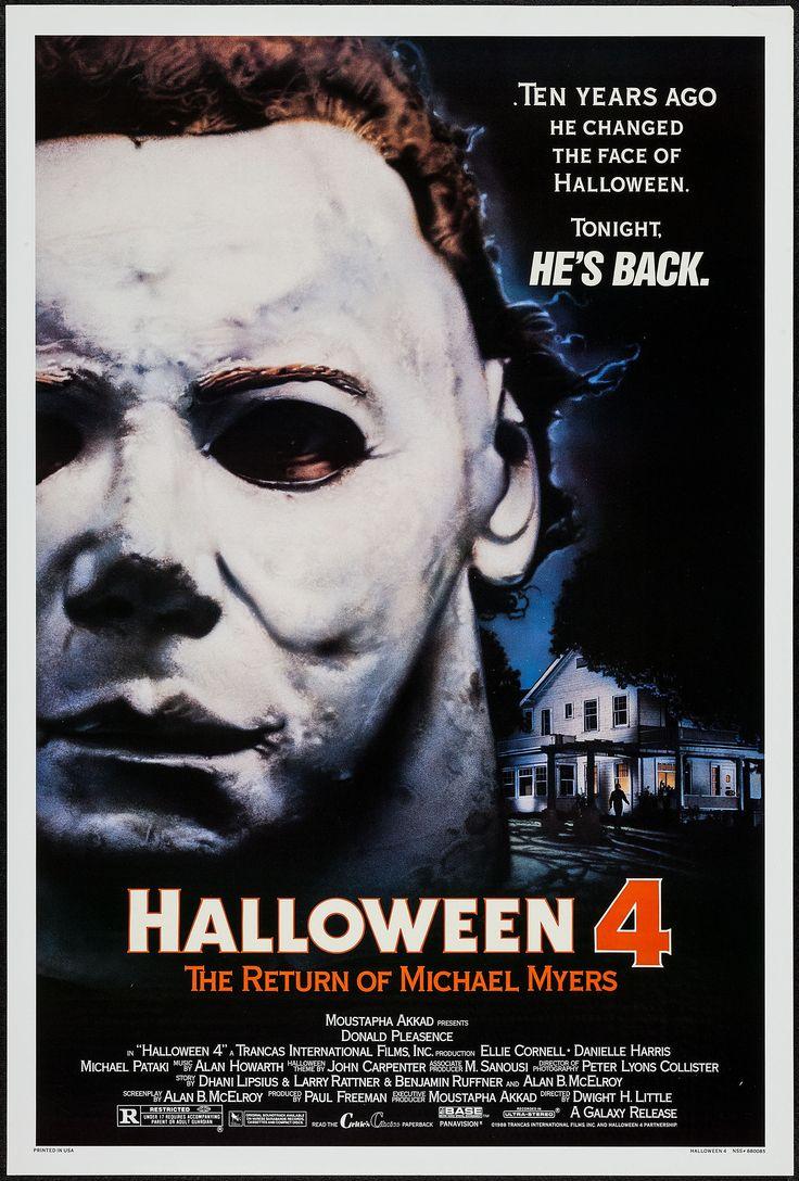 Halloween 4: The Return of Michael Myers (1988) Stars: Donald Pleasence, Ellie Cornell, Danielle Harris, George P. Wilbur, Michael Pataki, Beau Starr ~ Director: Dwight H. Little