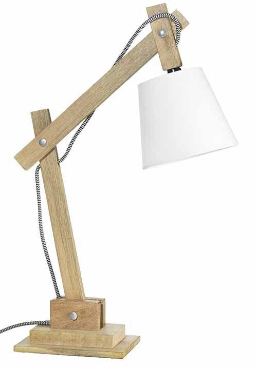 Lamp Tafellamp Hout