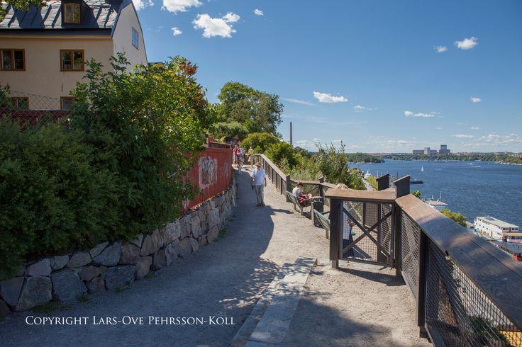 Monteliusvägen, Södermalm, Stockholm.