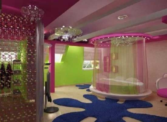 Amazing Girls Room Homes Pinterest