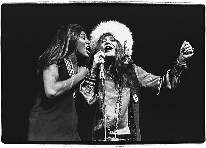 Women Who Rock In Pictures Music Janis Joplin Tina Turner