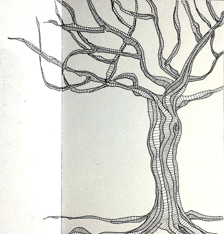 "Ink Sketch - ""Stripped"" - 2014"