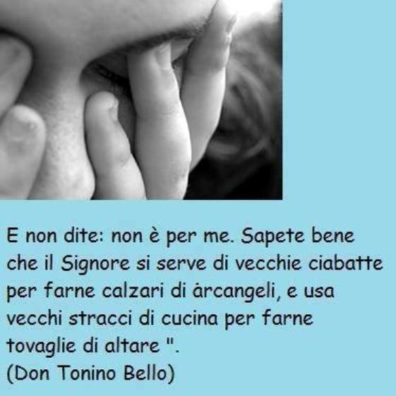 leggoerifletto: Vi benedico - don Tonino Bello