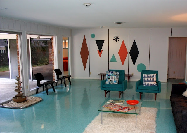 This mid-century home located in Temple, Texas was designed and built in 1959 by Ralph Wilson Sr., the founder of Wilsonart International.