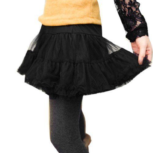 Allegra K Women Elastic Waist Mesh Ruffled Hem Mini Skirt Black XS Allegra K. $11.10