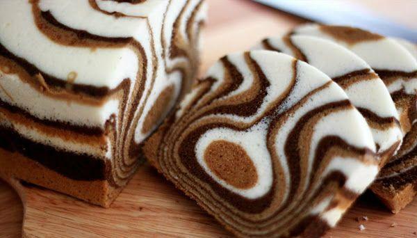 Our Gourmet Recipes: Zebra Cake Recipe
