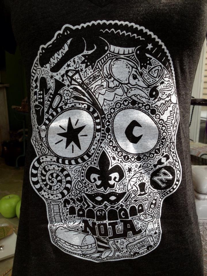 Sugar skulls lyrics for Electric voodoo tattoo