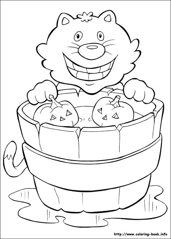 Printable Coloring Pages For Kids Halloween 43