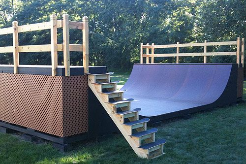 Man I really want to build a mini ramp in my backyard! Consider it added to my bucket list.