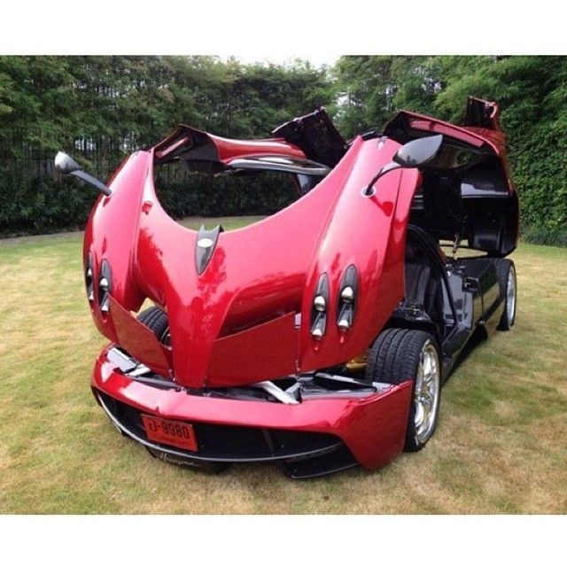 The Pagani Huayra (pronounced why-rah) is an Italian mid-engined sports car produced by Pagani. Succeeding the company's previous offering, the Zonda, it will cost £850,000 ($1,150,000) when it goes on sale in 2013. It is named after Huayra-tata, a South