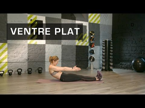 Fitness Master Class - Exercices fitness pour Ventre Plat - YouTube