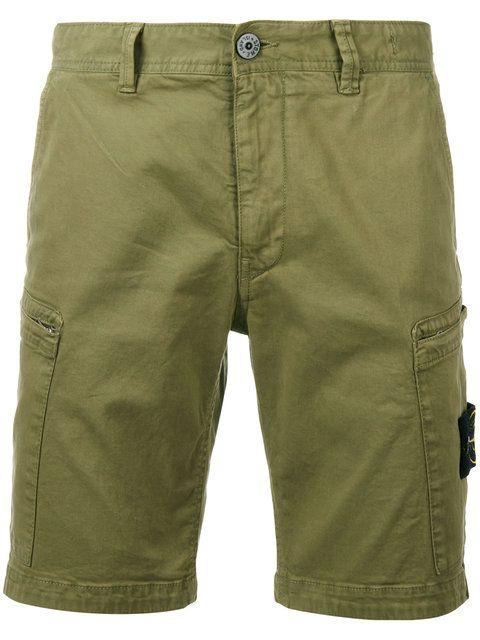 STONE ISLAND tapered shorts. #stoneisland #cloth #shorts