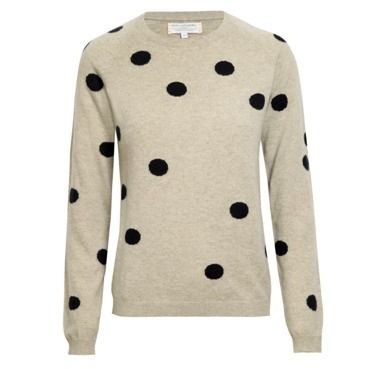 bliss blog - i heart monday:: chinti and parker polka dot sweater