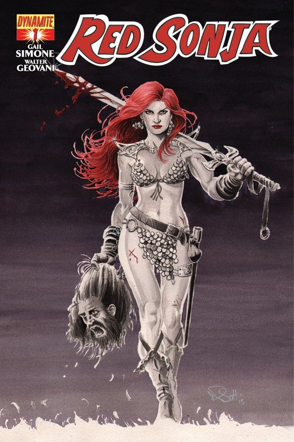 Red Sonja #1 Review: Ready for Battle, Even with a Hangover — GeekTyrant